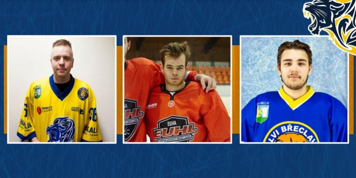 A-tým posiluje v obranných řadách. Představil tři nové hráče týmu - Michálka, Justa a Chlubnu
