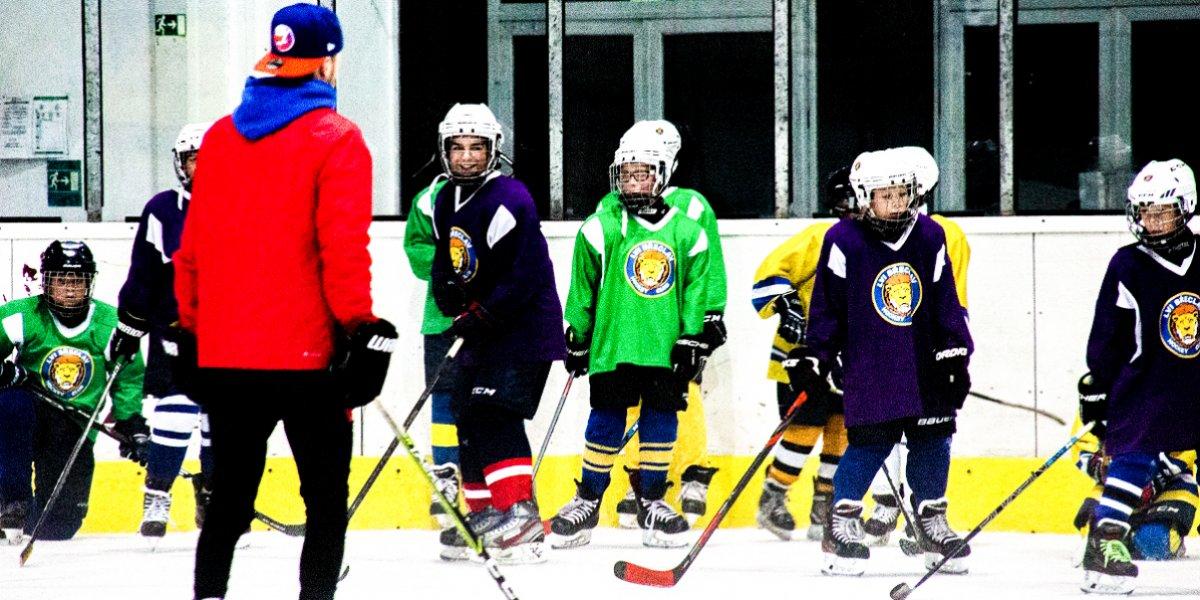Dříve než extraligové týmy. Lvíci za sebou mají dva týdny tréninků na domácím ledě.
