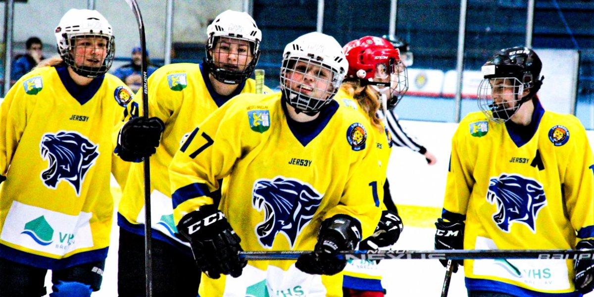 Přípravný miniturnaj ženských hokejových týmů v Břeclavi
