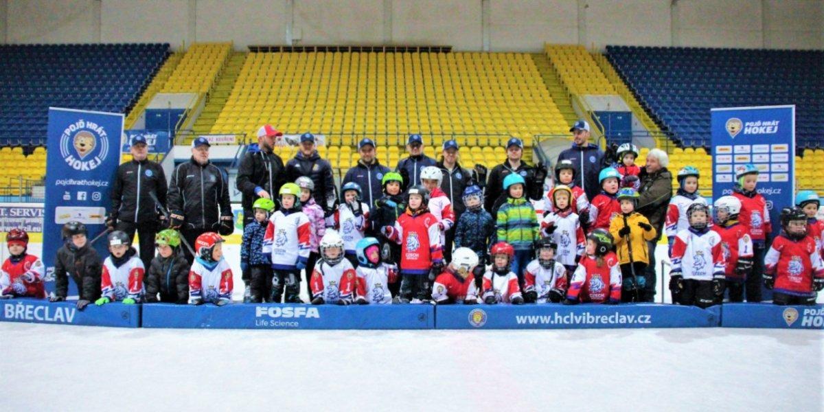 Týden hokeje proběhl už posedmé na břeclavském stadionu