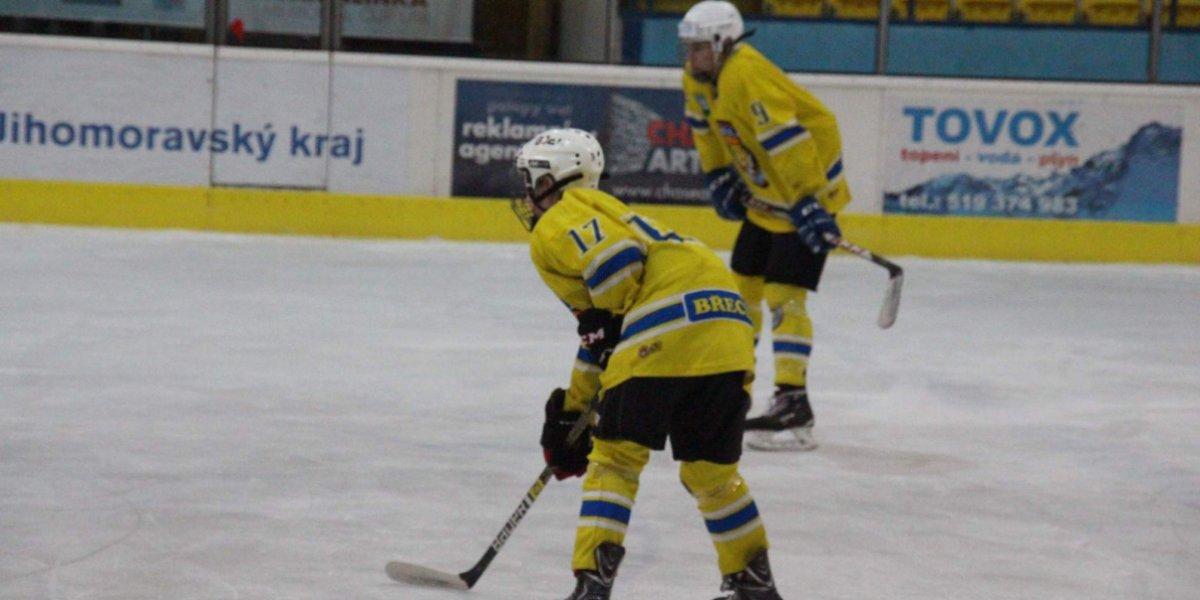 Hokejové prázdniny jsou u konce! První zápas dorostu skončil pro břeclavské hráče neúspěchem